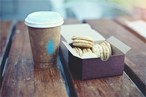 Photo of coffee and cookies